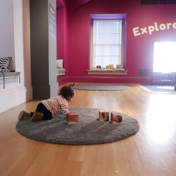 Kids room at Portrait Gallery