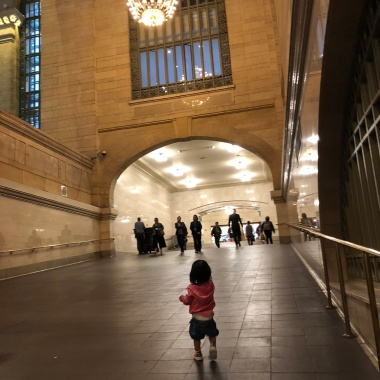Running through Grand Central Station