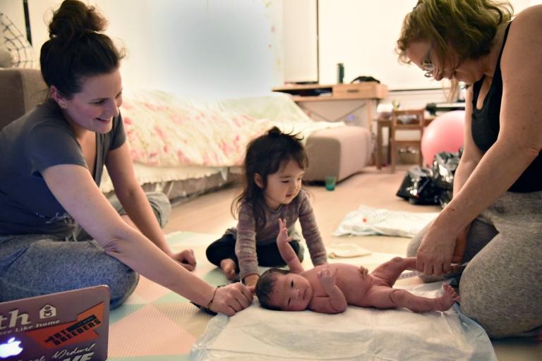 Newborn reflex